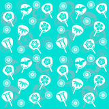 Seamless Japanese pattern Royalty Free Stock Photography