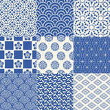 Seamless japanese pattern. Seamless traditional japanese mesh pattern Royalty Free Illustration
