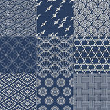 Seamless japanese pattern Royalty Free Stock Photo