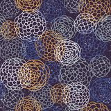 Seamless japanese style pattern. illustration Stock Image