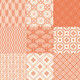 Seamless japanese traditional pattern Royalty Free Stock Image