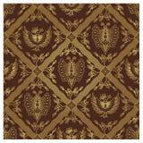 Seamless Javanese Batik Pattern - Animal Royalty Free Stock Image