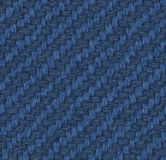 Seamless Jeans material texture. Detailed background vector illustration