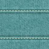 Seamless jeans texture Royalty Free Stock Images