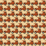 Seamless jeep pattern. Cartoon style seamless off-road car pattern Royalty Free Stock Photo