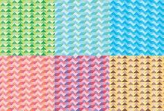 Seamless Jigsaw Pattern Pack1 Stock Photo
