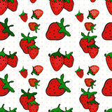seamless jordgubbe för modell Royaltyfri Foto