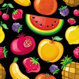 Seamless Juicy fruit texture 2 royalty free stock photography