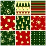 seamless jul Fotografering för Bildbyråer