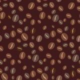 seamless kaffemodell Royaltyfri Fotografi