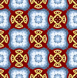 Seamless  Kaleidoscope Abstract background Royalty Free Stock Photos