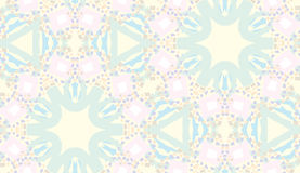 Seamless Kaleidoscope Pattern Royalty Free Stock Images