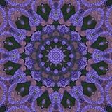 Seamless kaleidoscopic mosaic pattern Royalty Free Stock Image