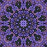 Seamless kaleidoscopic mosaic pattern. Background Royalty Free Stock Image