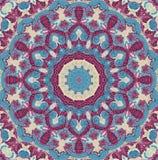 Seamless kaleidoscopic mosaic pattern. Background Royalty Free Stock Photo