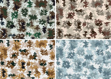seamless kamouflage Arkivbilder