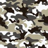 seamless kamouflagemodell Arkivfoton