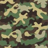 seamless kamouflagemodell Royaltyfri Bild