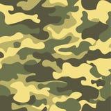 seamless kamouflagemodell Kakier texturerar, illustrationen Camo tryckbakgrund Abstrakt militär stilbakgrund Royaltyfri Fotografi