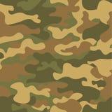seamless kamouflagemodell Kakier texturerar, illustrationen Camo tryckbakgrund Abstrakt militär stilbakgrund för ditt Royaltyfri Fotografi