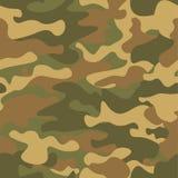 seamless kamouflagemodell Kakier texturerar, illustrationen Camo tryckbakgrund Abstrakt militär stilbakgrund för ditt Arkivbild
