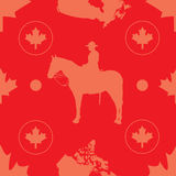 seamless Kanada Royaltyfria Bilder