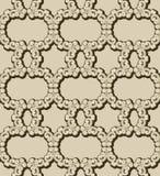 Seamless kedja mönstrar Arkivbild