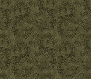 Seamless khaki green foliage pattern Royalty Free Stock Photo