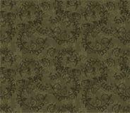 Seamless khaki green foliage pattern Royalty Free Stock Photo