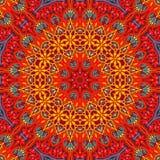 Seamless khayameya pattern design 018 Stock Images