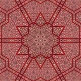 Seamless khayameya pattern design 015 Royalty Free Stock Photo