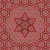 Seamless khayameya pattern design 014 Stock Photography