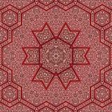 Seamless khayameya pattern design 013 Royalty Free Stock Photos