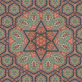 Seamless khayameya pattern design 011 Royalty Free Stock Photos