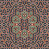 Seamless khayameya pattern design 006 Stock Photography