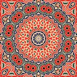 Seamless khayameya pattern design 003 Royalty Free Stock Photo
