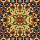 Seamless khayameya pattern design 002 Royalty Free Stock Photo