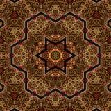 Seamless khayameya pattern design 039 Stock Image
