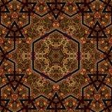 Seamless khayameya pattern design 033 Royalty Free Stock Photos