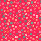 Seamless kid floral pattern Royalty Free Stock Photos