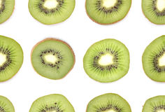 Seamless kiwi background Stock Photo