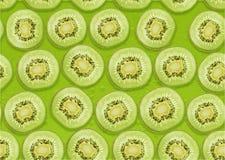 Seamless Kiwi background. Seamless background of fresh Kiwi slices Stock Images
