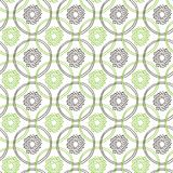 Seamless kiwi fruit line pattern. Vector illustration for menu, wallpapers and scrapbooks. Stock Photography