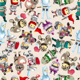 Seamless Knight pattern Stock Photography