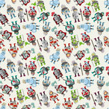Seamless Knight pattern Royalty Free Stock Image