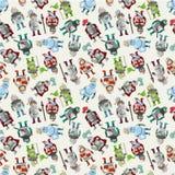 Seamless Knight Pattern Royalty Free Stock Image