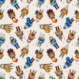Seamless Knight pattern Royalty Free Stock Images