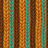 Seamless knit pattern Stock Images