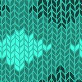 Seamless knit pattern Stock Photos