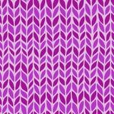 Seamless knit pattern Royalty Free Stock Photo